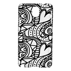 Seamless Tile Background Abstract Samsung Galaxy Note 3 N9005 Hardshell Case by Celenk