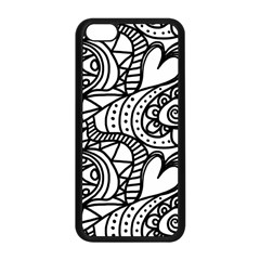 Seamless Tile Background Abstract Apple Iphone 5c Seamless Case (black) by Celenk