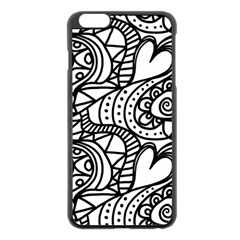 Seamless Tile Background Abstract Apple Iphone 6 Plus/6s Plus Black Enamel Case by Celenk