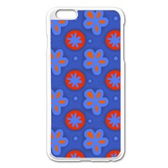 Seamless Tile Repeat Pattern Apple Iphone 6 Plus/6s Plus Enamel White Case by Celenk