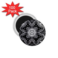 Mandala Calming Coloring Page 1 75  Magnets (100 Pack)  by Celenk