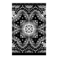 Mandala Calming Coloring Page Shower Curtain 48  X 72  (small)  by Celenk
