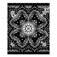 Mandala Calming Coloring Page Shower Curtain 60  X 72  (medium)  by Celenk