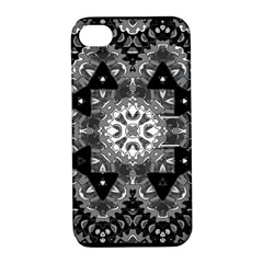 Mandala Calming Coloring Page Apple Iphone 4/4s Hardshell Case With Stand by Celenk