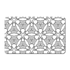 Pattern Design Pretty Cool Art Magnet (rectangular) by Celenk