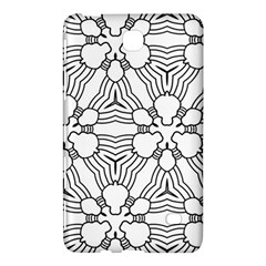 Pattern Design Pretty Cool Art Samsung Galaxy Tab 4 (8 ) Hardshell Case  by Celenk