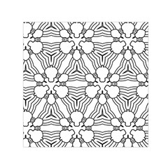 Pattern Design Pretty Cool Art Small Satin Scarf (square)