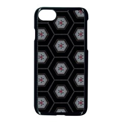 Mandala Calming Coloring Page Apple Iphone 8 Seamless Case (black) by Celenk