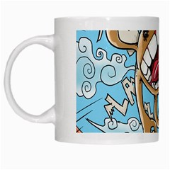 Illustration Characters Comics Draw White Mugs by Celenk