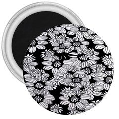 Mandala Calming Coloring Page 3  Magnets by Celenk