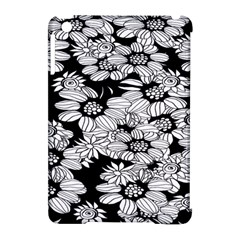 Mandala Calming Coloring Page Apple Ipad Mini Hardshell Case (compatible With Smart Cover) by Celenk