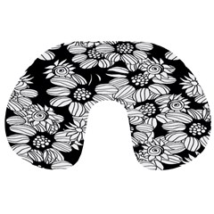 Mandala Calming Coloring Page Travel Neck Pillows by Celenk