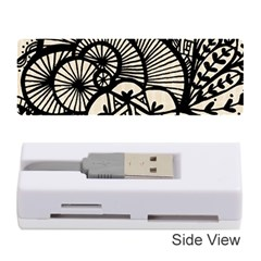 Background Abstract Beige Black Memory Card Reader (stick)  by Celenk