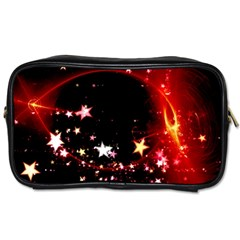 Circle Lines Wave Star Abstract Toiletries Bags by Celenk