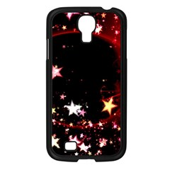 Circle Lines Wave Star Abstract Samsung Galaxy S4 I9500/ I9505 Case (black) by Celenk