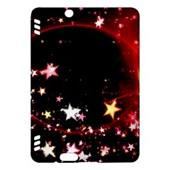 Circle Lines Wave Star Abstract Kindle Fire Hdx Hardshell Case by Celenk