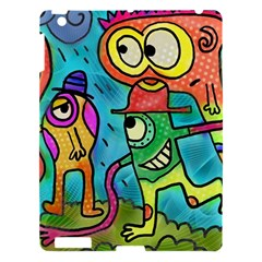 Painting Painted Ink Cartoon Apple Ipad 3/4 Hardshell Case by Celenk