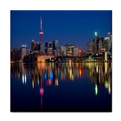 Buildings Can Cn Tower Canada Tile Coasters by Celenk