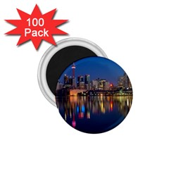 Buildings Can Cn Tower Canada 1 75  Magnets (100 Pack)  by Celenk