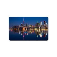 Buildings Can Cn Tower Canada Magnet (name Card) by Celenk