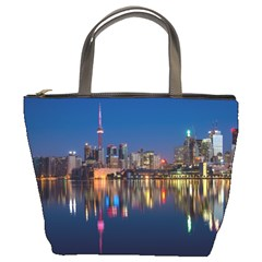 Buildings Can Cn Tower Canada Bucket Bags by Celenk