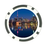 Buildings Can Cn Tower Canada Poker Chip Card Guard (10 pack) Front