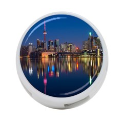 Buildings Can Cn Tower Canada 4 Port Usb Hub (one Side) by Celenk
