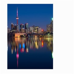 Buildings Can Cn Tower Canada Large Garden Flag (two Sides) by Celenk