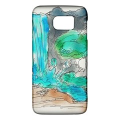 Doodle Sketch Drawing Landscape Galaxy S6 by Celenk