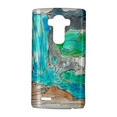 Doodle Sketch Drawing Landscape Lg G4 Hardshell Case by Celenk