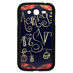 Chalk Chalkboard Board Frame Samsung Galaxy Grand Duos I9082 Case (black) by Celenk