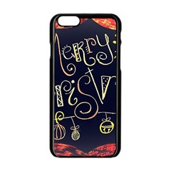 Chalk Chalkboard Board Frame Apple Iphone 6/6s Black Enamel Case by Celenk