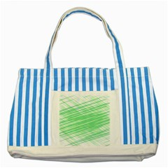 Dirty Dirt Structure Texture Striped Blue Tote Bag by Celenk