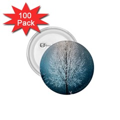 Winter Wintry Snow Snow Landscape 1 75  Buttons (100 Pack)  by Celenk