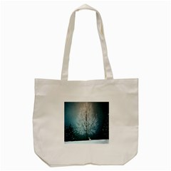 Winter Wintry Snow Snow Landscape Tote Bag (cream) by Celenk