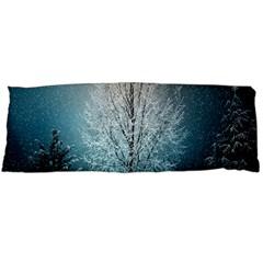 Winter Wintry Snow Snow Landscape Body Pillow Case (dakimakura) by Celenk