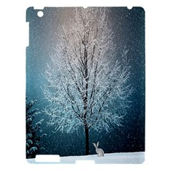 Winter Wintry Snow Snow Landscape Apple Ipad 3/4 Hardshell Case by Celenk