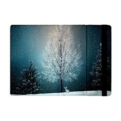 Winter Wintry Snow Snow Landscape Apple Ipad Mini Flip Case by Celenk