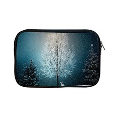 Winter Wintry Snow Snow Landscape Apple Ipad Mini Zipper Cases by Celenk