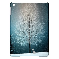 Winter Wintry Snow Snow Landscape Ipad Air Hardshell Cases by Celenk
