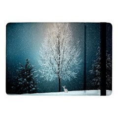 Winter Wintry Snow Snow Landscape Samsung Galaxy Tab Pro 10 1  Flip Case by Celenk