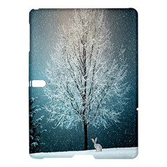 Winter Wintry Snow Snow Landscape Samsung Galaxy Tab S (10 5 ) Hardshell Case  by Celenk