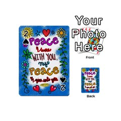 Christian Christianity Religion Playing Cards 54 (mini)  by Celenk