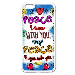 Christian Christianity Religion Apple Iphone 6 Plus/6s Plus Enamel White Case by Celenk