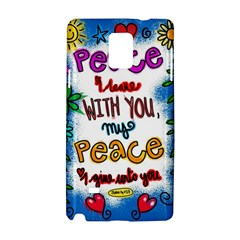 Christian Christianity Religion Samsung Galaxy Note 4 Hardshell Case by Celenk
