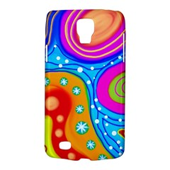 Abstract Pattern Painting Shapes Galaxy S4 Active by Celenk