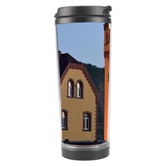 Blue Hour Colliery House Travel Tumbler by Celenk