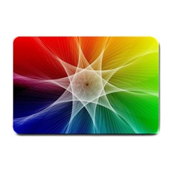 Abstract Star Pattern Structure Small Doormat  by Celenk
