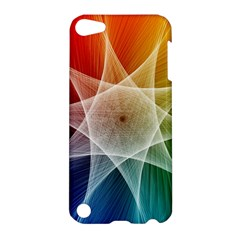 Abstract Star Pattern Structure Apple Ipod Touch 5 Hardshell Case by Celenk