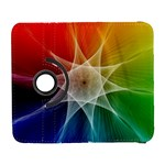 Abstract Star Pattern Structure Galaxy S3 (Flip/Folio) Front